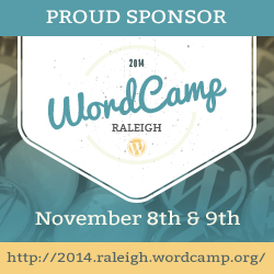 PROUD SPONSOR WordCamp Raleigh